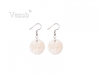 Round Shell Earring (φ20mm)
