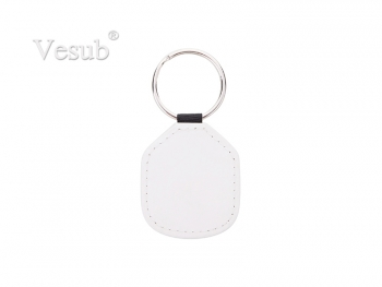 PU Keychain (3.5*5cm, Double Sides Printable)