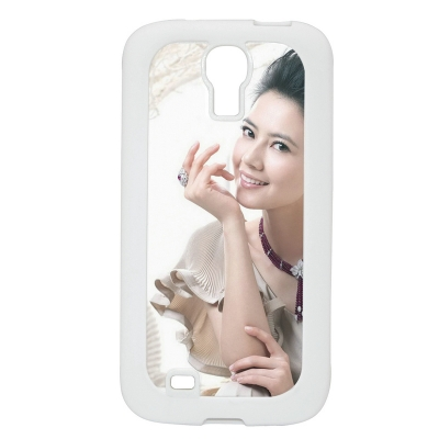 Samsung Galaxy S4 cover(Rubber)-White