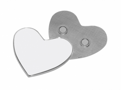 Heart Metal Fridge Magnet