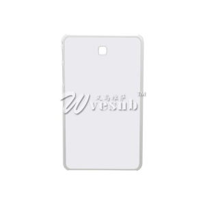 "DIY 2D Sublimation Heat Press PC Cover Case with Metal Aluminium Plates for Samsung Galaxy TAB4 7"" Cover"