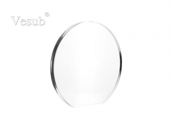Acrylic Frame (19*20*1.5cm, Round with Flat Bottom)