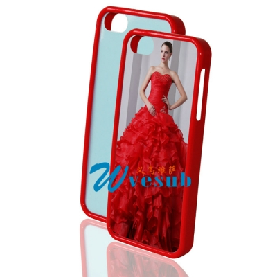 iPhone 5s Sublimation Case-Red