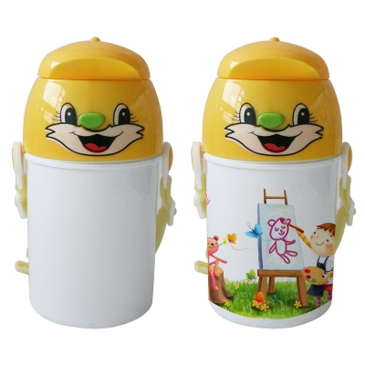 Sublimation Kids Water Bottle-Yellow