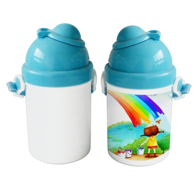 Sublimation Kid Bottle-Blue