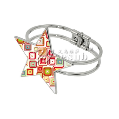 Sublimation Star Cuff Bracelet