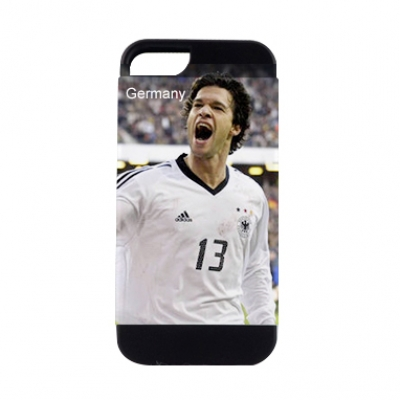 2 in 1 3D Sublimation iPhone 5 Frosted Card Insert Black Cover