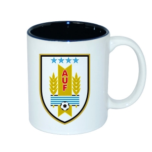 11oz Two-Tone Color Mug-Black