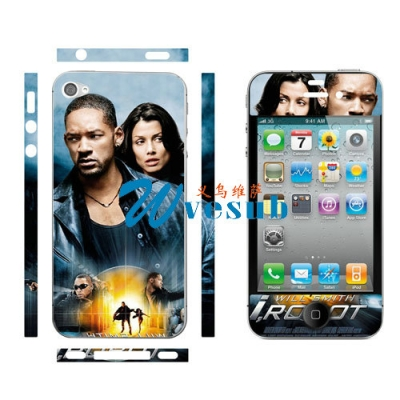 Personalized iPhone 4/4S Skin