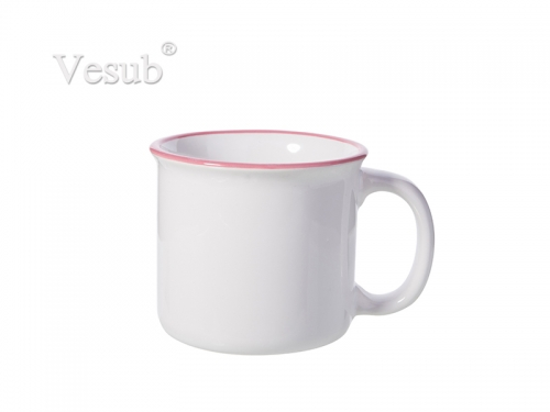 10oz/300ml Ceramic Enamel Mug (PK)