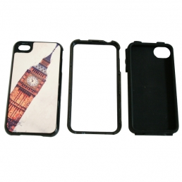 Multi-Protective iPhone 4/4s Cover(3-in-1)-Black