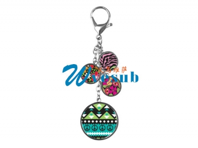 Sublimation Bag Hanging Chain-Four Circle
