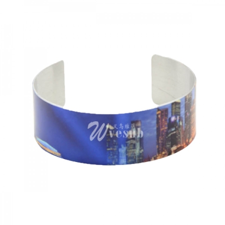 Wholesale Fashion Sublimation Aluminum Bracelet(1.9*16.9cm)