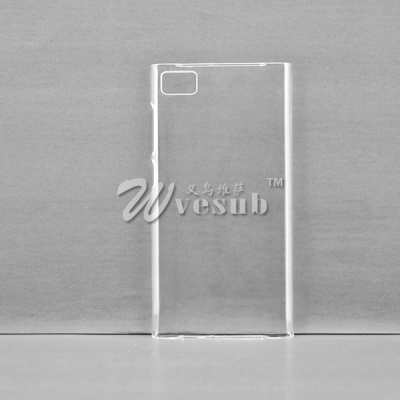 3D Sublimation Xiaomi Mi3 Cases(Coated, Clear Glossy)