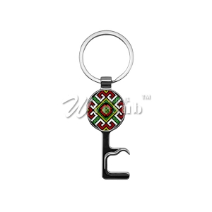 Sublimation Multi-functional Phone Holder Key Ring