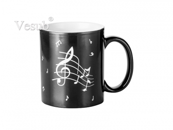 11oz Engraving Color Changing Mug (Music)