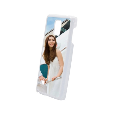 Plastic Samsung Galaxy Note 4 Cover-White