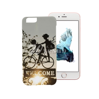 High Quality Sublimation Coated Custom Cover For IPhone 6s Plus Glossy Case with Wholesale Price
