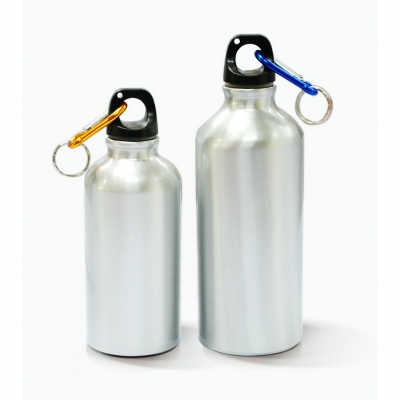 400ml Aluminium Water Bottle  (Silve)