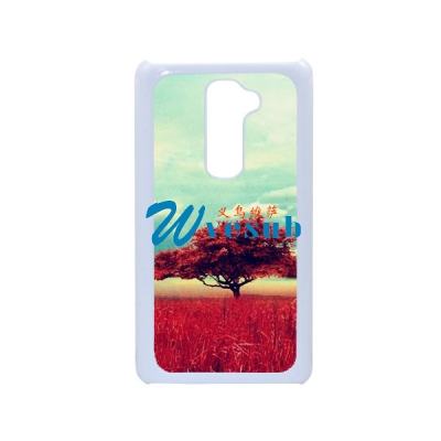 Sublimation Custom Phone Plastic Case for LG G2