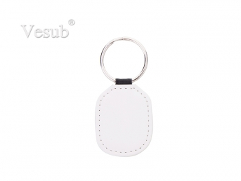 PU Keychain (4*5cm, Double Sides Printable)